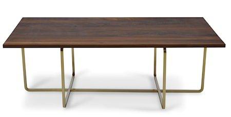 Ninety Table XL wood sofabord - (H) 30, walnut