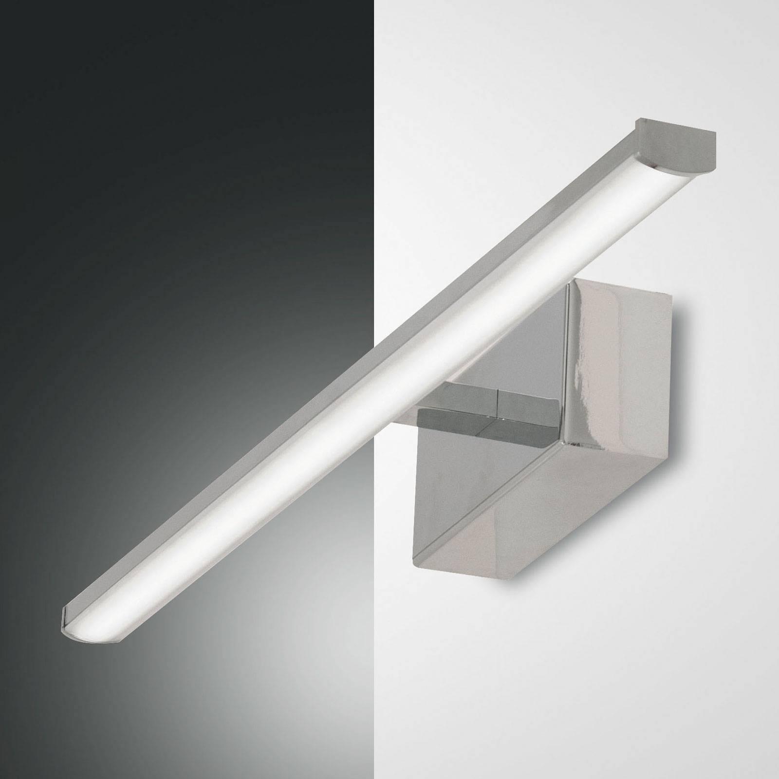LED-seinävalaisin Nala, kromi, leveys 50 cm