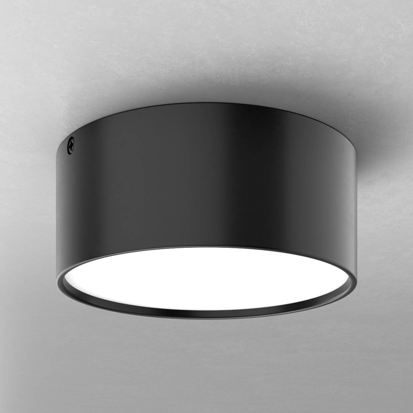 Tyylikäs LED-kattovalaisin Mine, musta 14 cm