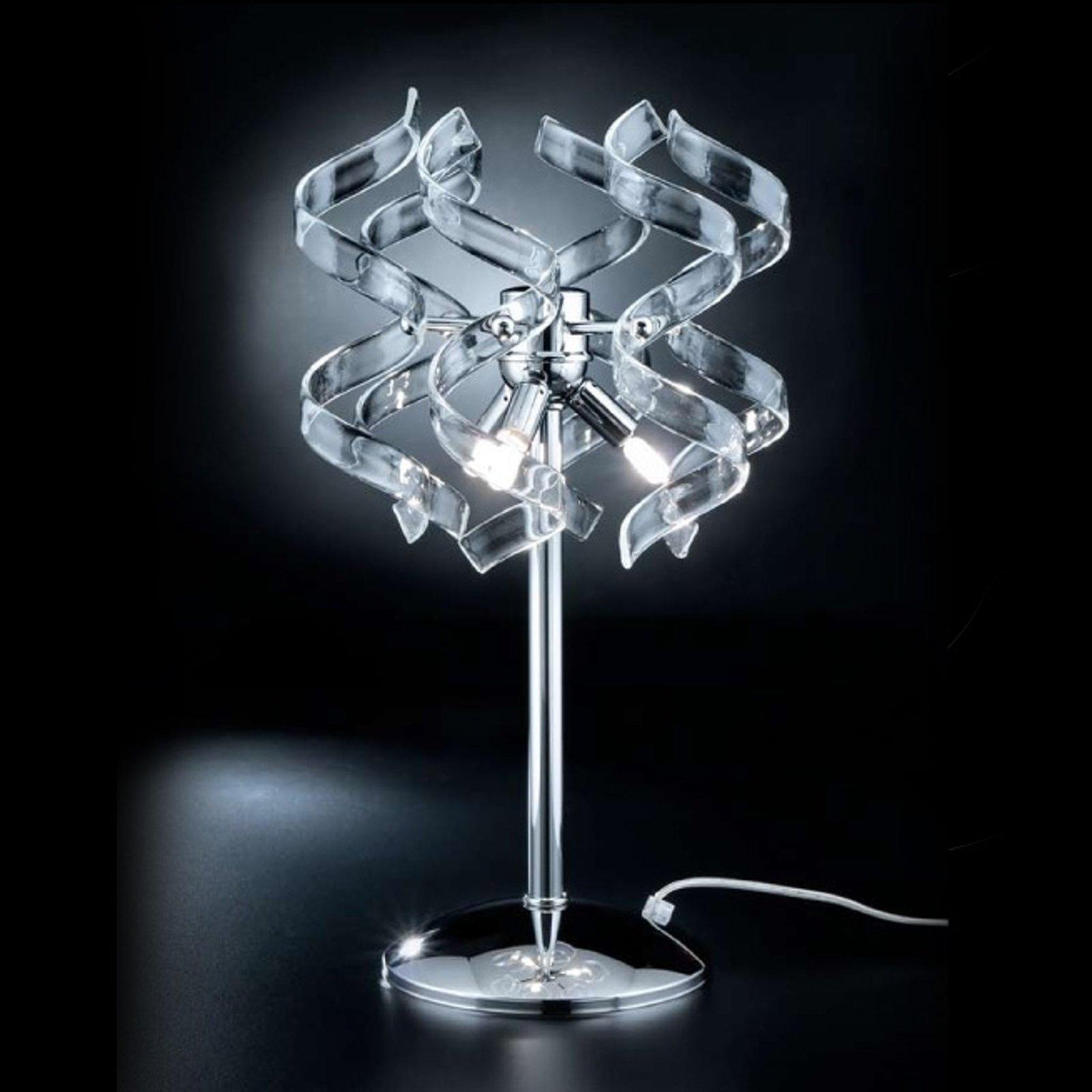 Uvanlig bordlampe CRYSTAL