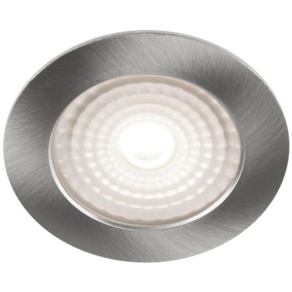 Hide-a-Lite 1202 Comfort Minidownlight 3,2 W, børstet stål 3000 K