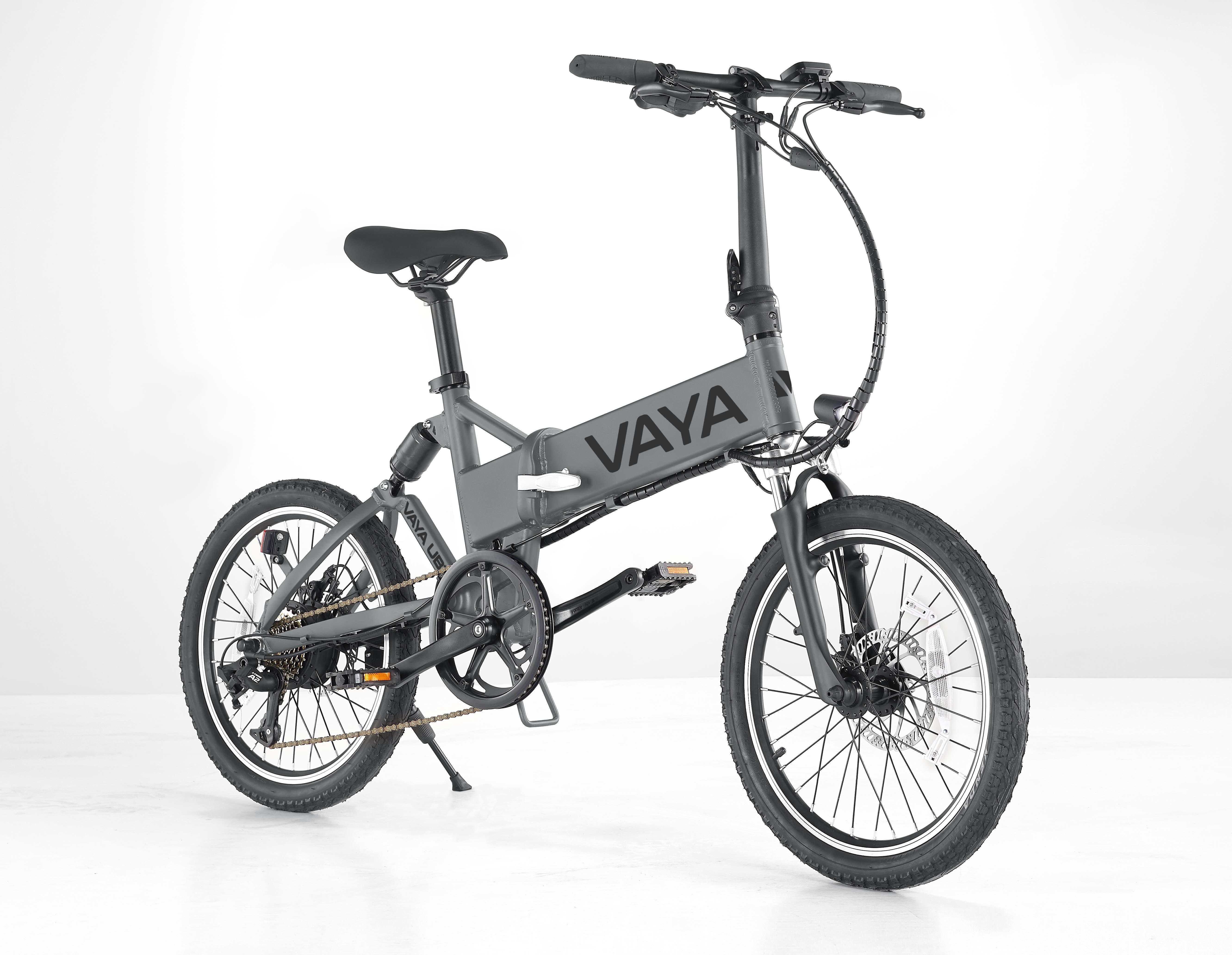 Vaya - Urban E-Bike UB-1 - Electric Bike - Dark Grey (1643DG)