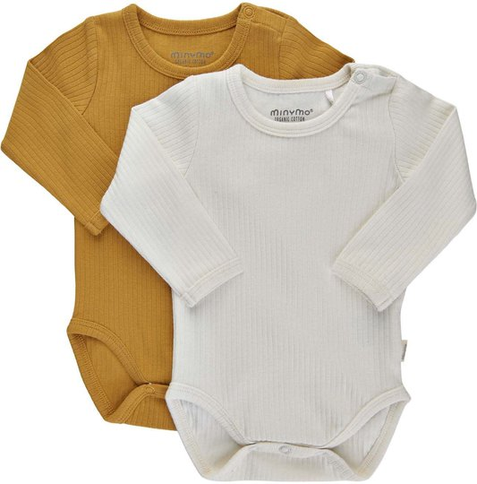 Minymo Body 2-pack, Amber Gold, 56