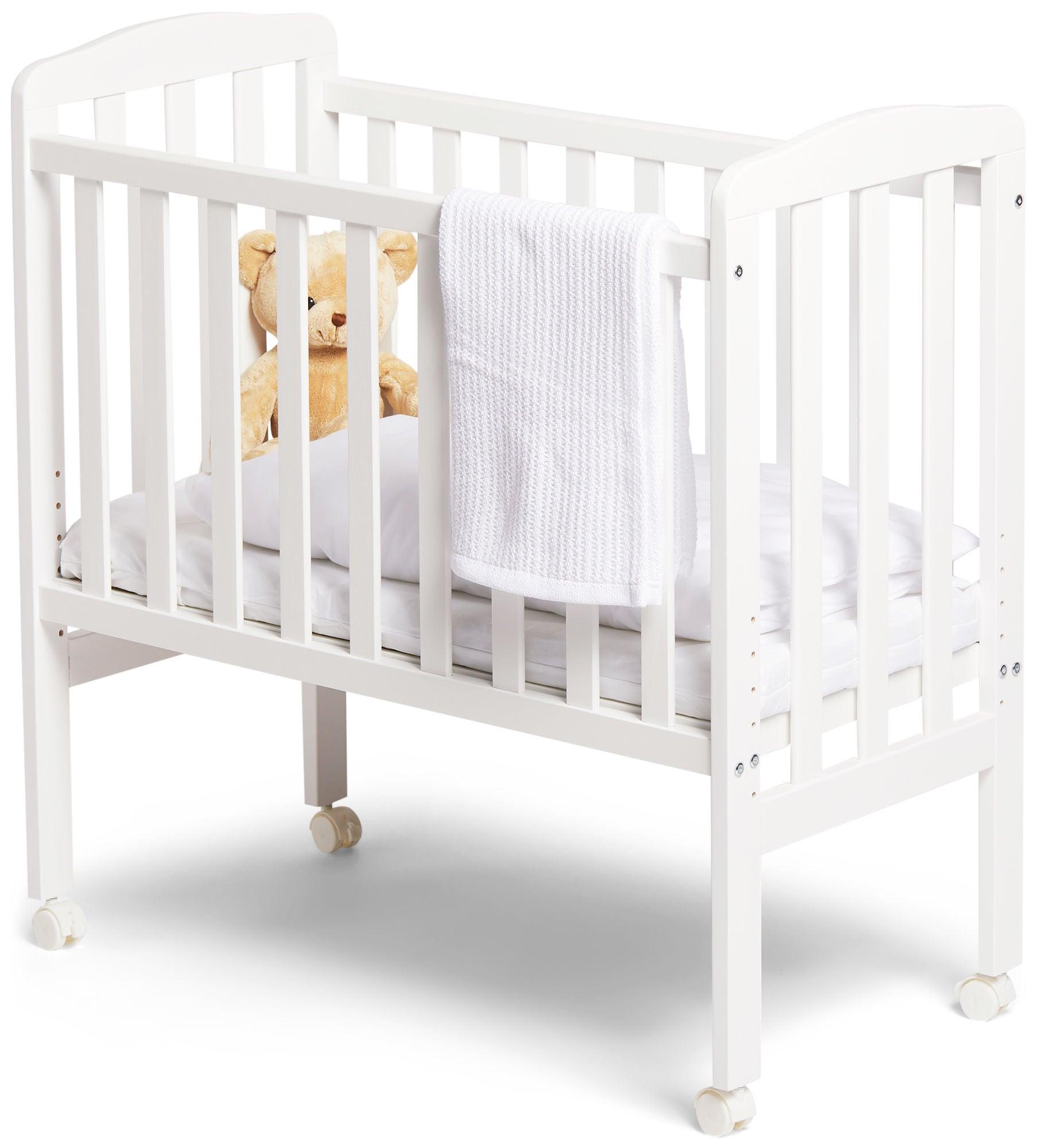 JLY Dream Bedside Crib, Valkoinen