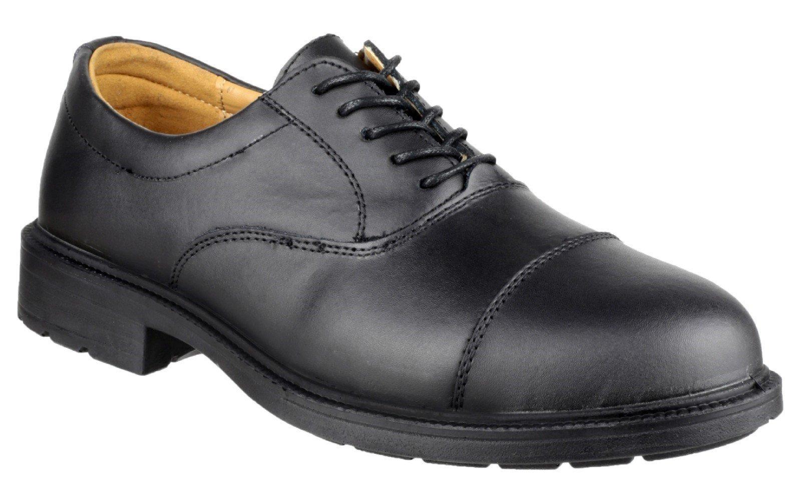 Amblers Men's Safety Work Oxford Shoe Black 25277 - Black 13