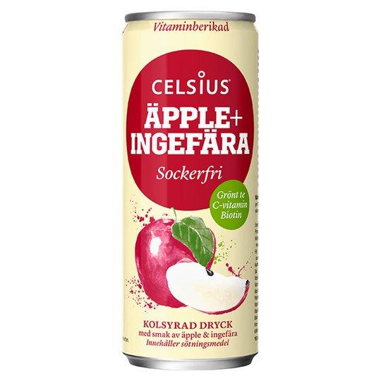 Energidryck Äpple & Ingefära 355ml - 32% rabatt