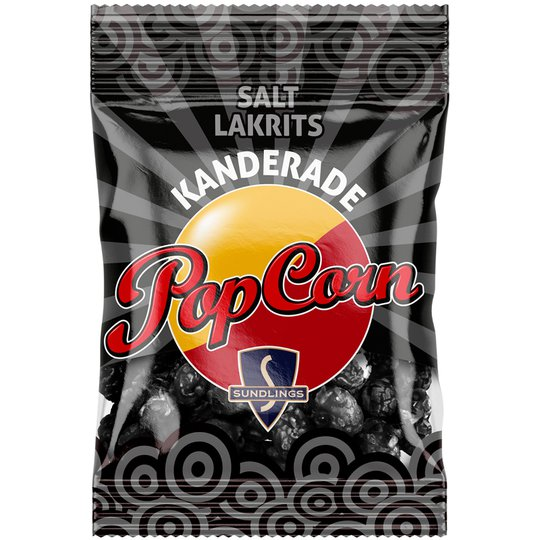Popcorn Lakrits - 32% rabatt