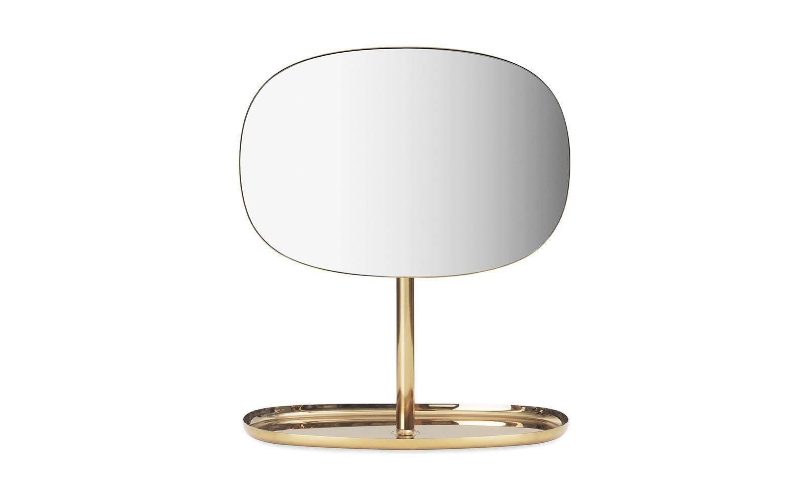 Normann Copenhagen - Flip Mirror - Brass (371999)