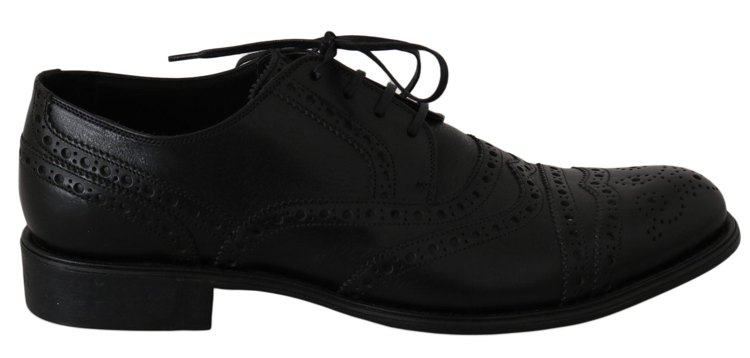 Dolce & Gabbana Men's Shoes Black MV2366 - EU39/US6