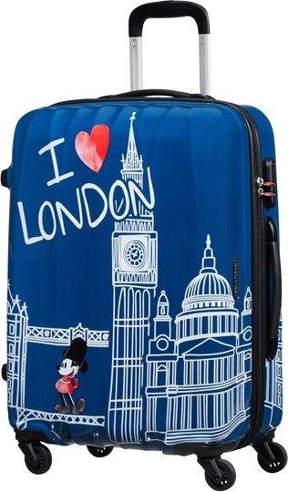 American Tourister Alfatwist Mikke Mus Koffert 63L, London