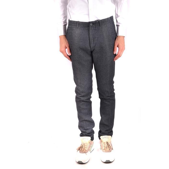 Daniele Alessandrini Men's Trouser Grey 163261 - grey 44
