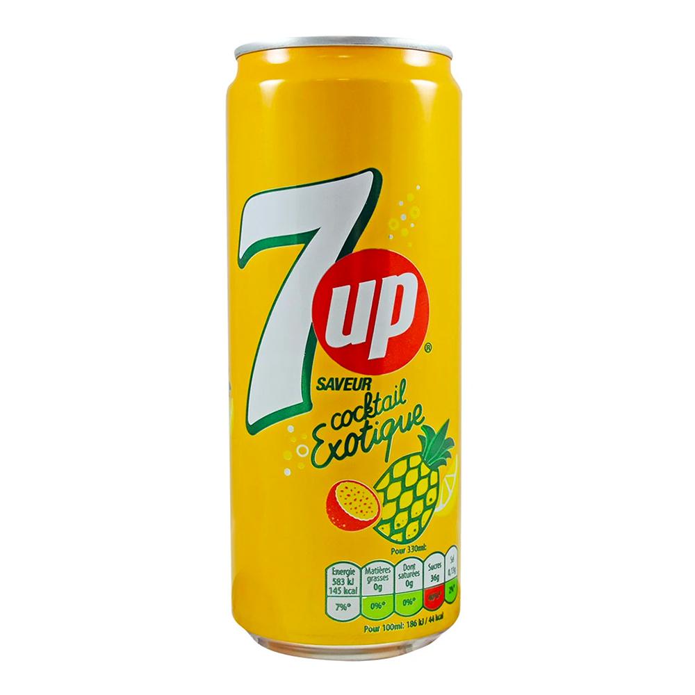 7-Up Cocktail Exotique - 33 cl