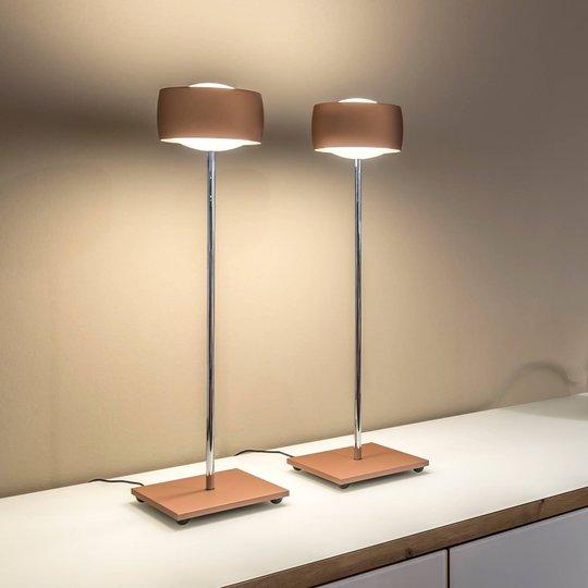 Med bevegelsesstyring – LED-bordlampe Grace kobber