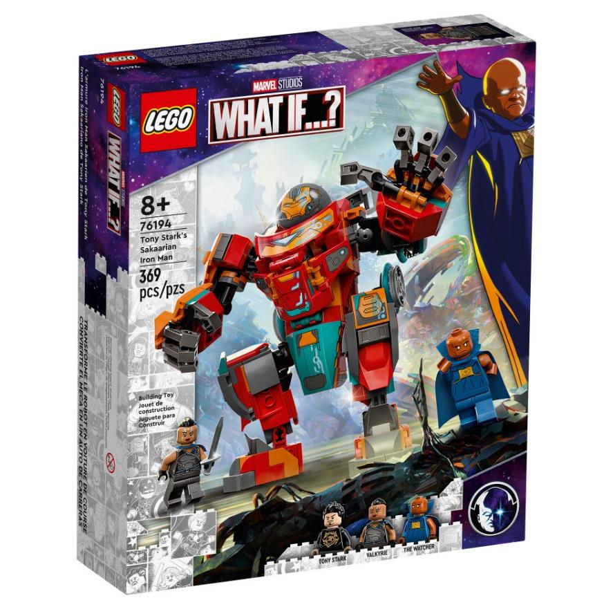 LEGO Marvel - Tony Stark's saccharine Iron Man (76194)