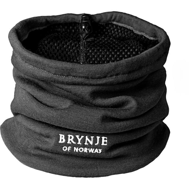 Brynje Arctic Hals - One size Black Hals/Lue/Buff med strikk