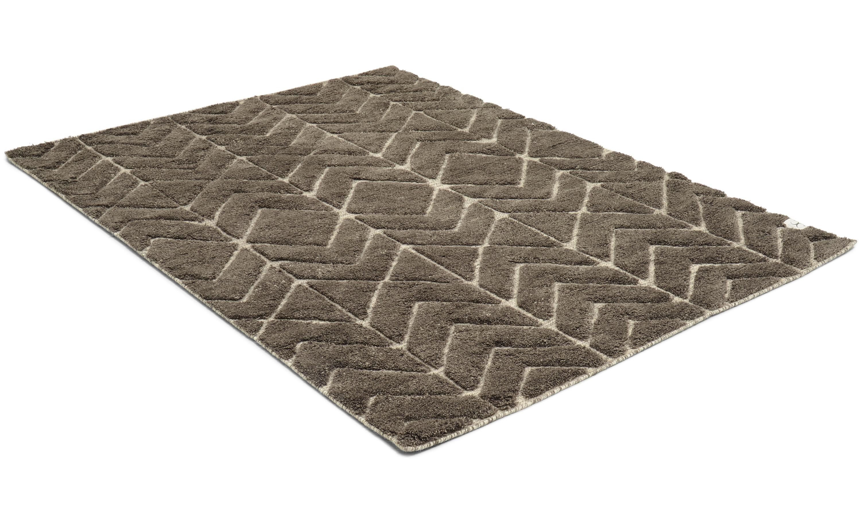 Soho pavement - håndvevd ullteppe