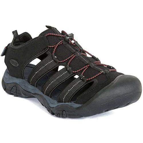 Trespass Men's Hiking Sandals Various Colours Torrance - Black UK-7 / EU-41