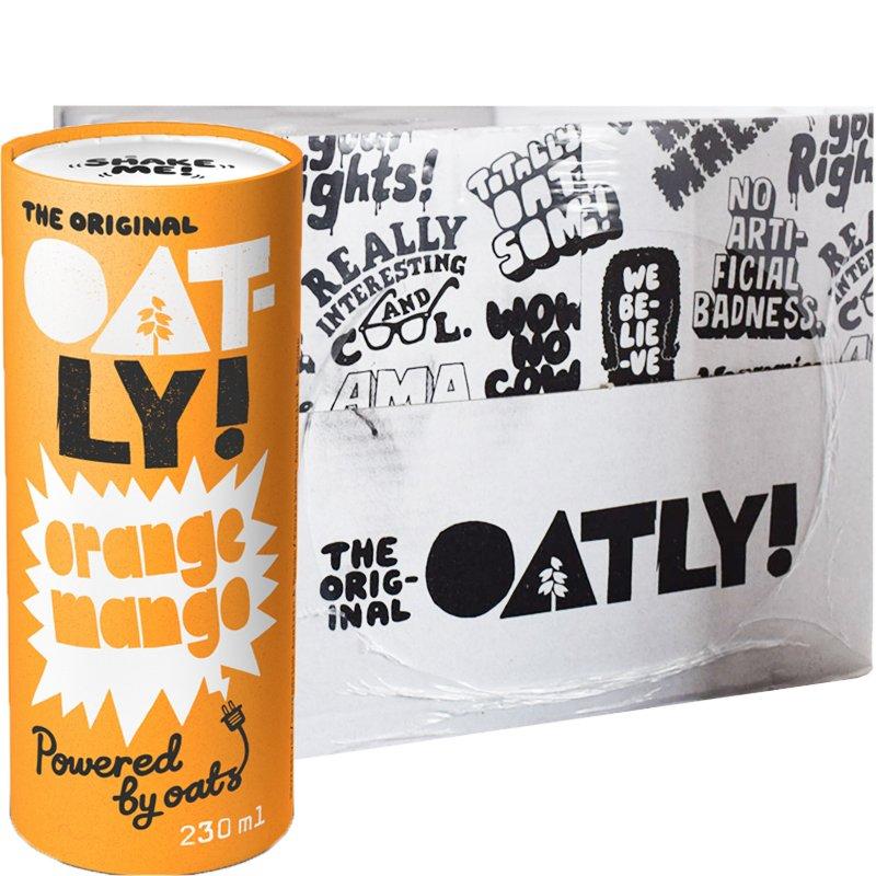 Hel Låda Dryck Natural Energy Orange 12-pack - 43% rabatt