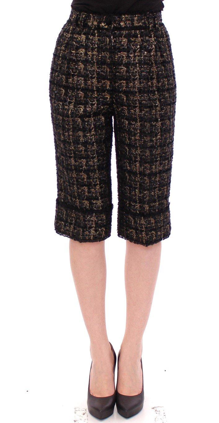 Dolce & Gabbana Women's Fabric Short Black GSS10092 - IT40|S