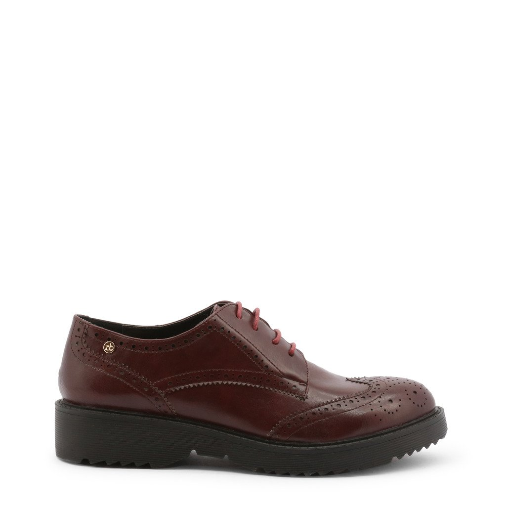 Roccobarocco Women's Lace Up Shoes Red 342854 - red EU 37