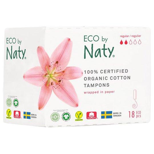 Naty Ekologiska Tamponger normal, 18 st