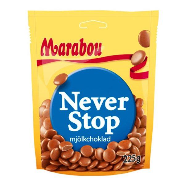 Marabou Never Stop - 225 gram