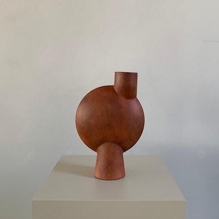 Sphere Bubl Vas Midi Terrakotta