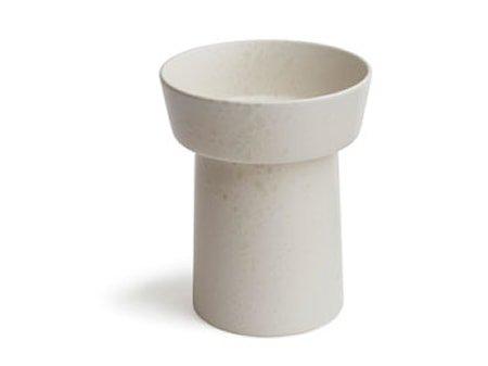 Ombria vase Marmorhvit H 20 cm