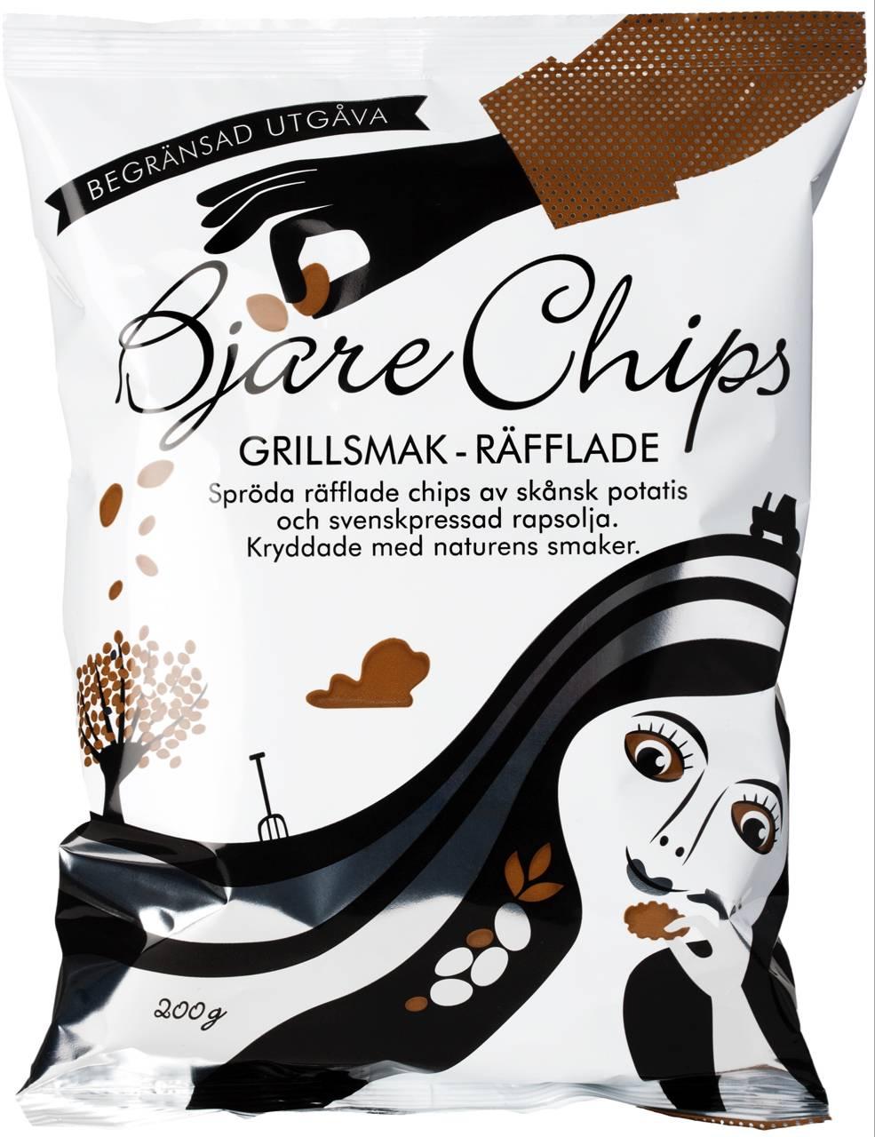 Bjäre Chips Grillsmak 200g