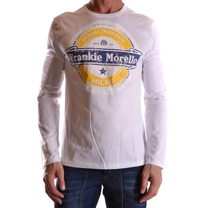 Frankie Morello Men's T-Shirt White 162828 - white XL