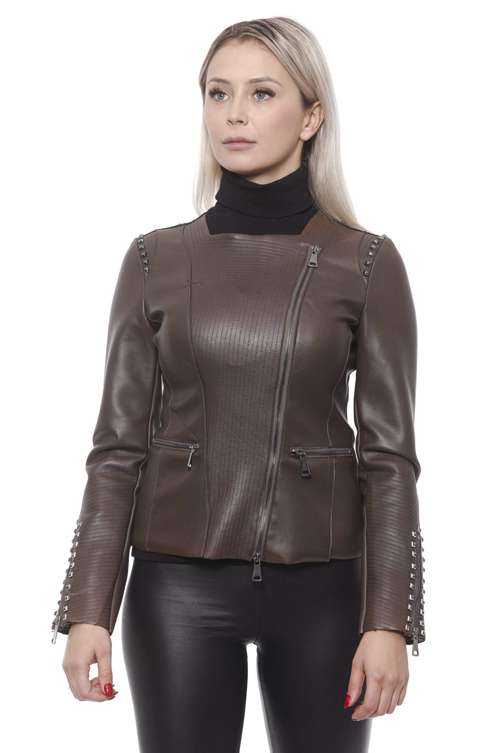 19V69 Italia Women's Marrone Jacket 191388474 - M