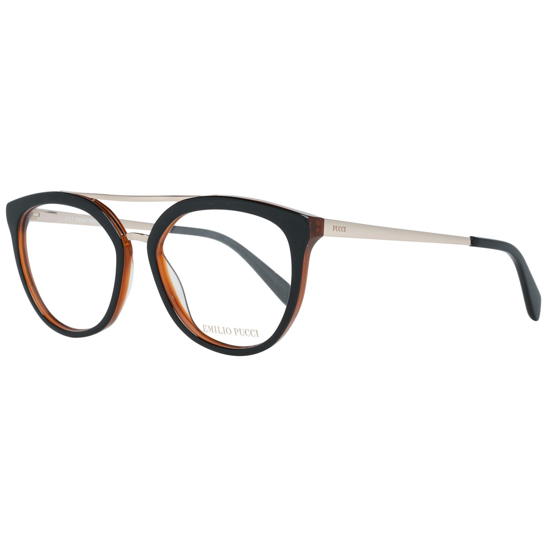 Emilio Pucci Women's Optical Frames Eyewear Black EP5072 52005