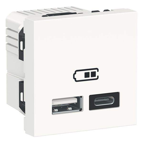 Schneider Electric NU301818 USB-laturi A+C