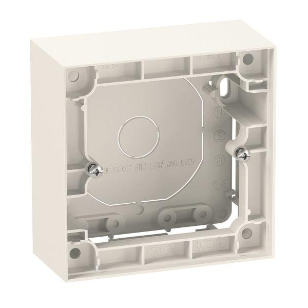 Elko Plus Korotuskehys 35 mm, valkoinen 1-lokeroinen