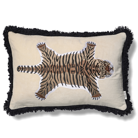 Tigris Putetrekk Hvit/Natur 40x60 cm