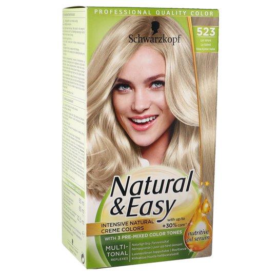 Hårfärg Natural & Easy 523 Cool Blond - 43% rabatt