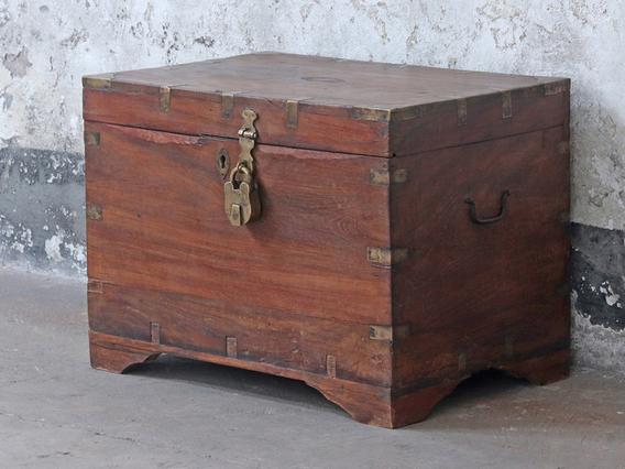 Wooden Storage Chest Medium