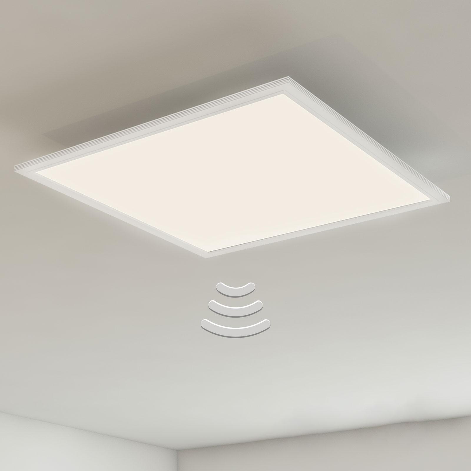 LED-kattovalaisin 7188-016, tunnistin, 59,5x59,5cm
