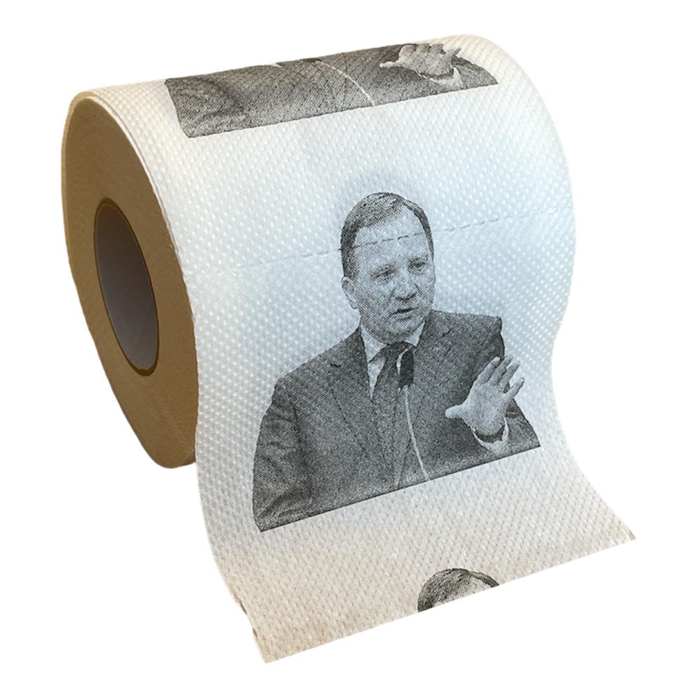 Stefan Löfven Toalettpapper