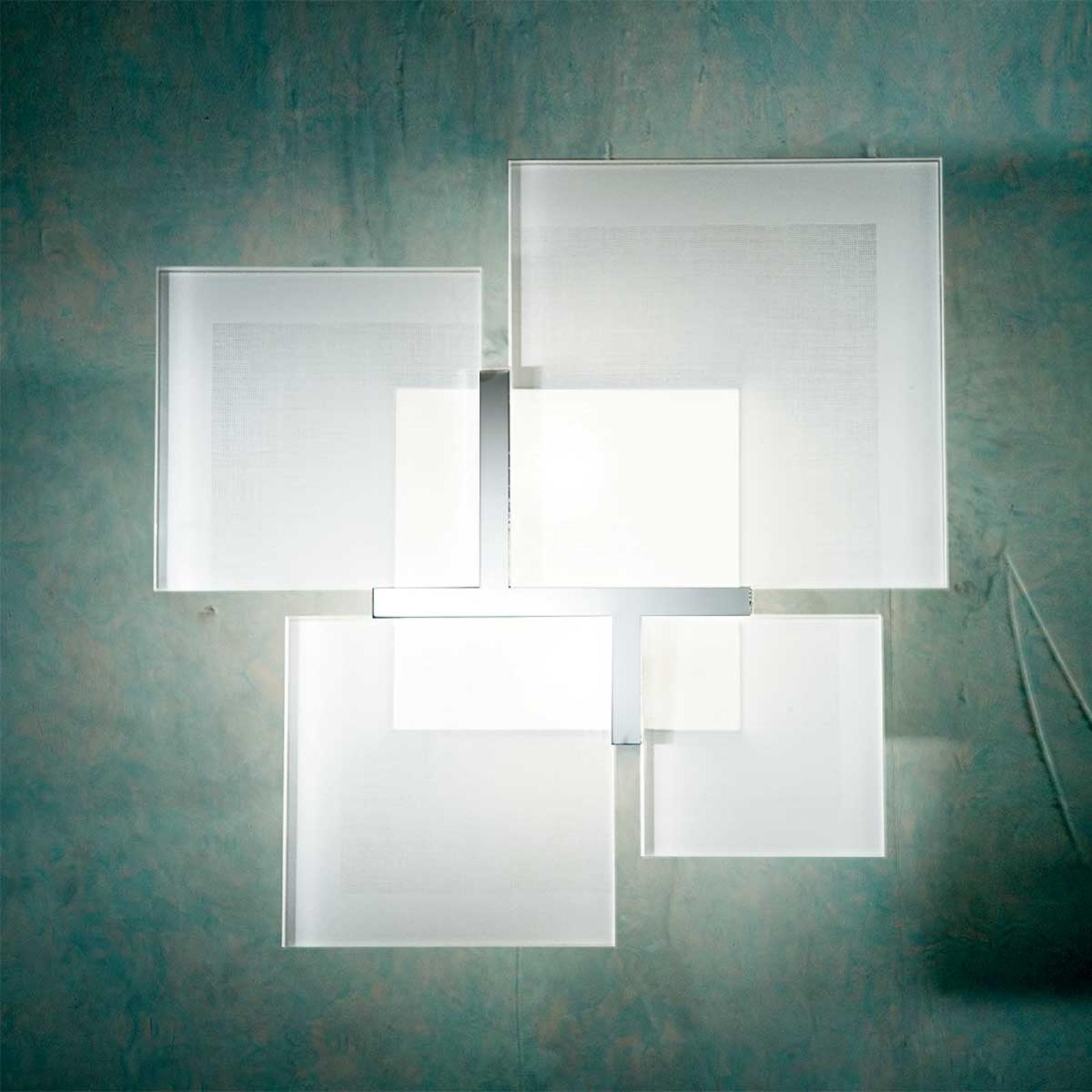 Kattovalaisin QUADRIFOGLIO 8050, hopea, 36 cm