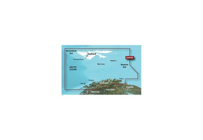 Garmin Vestfjd-Svalbard-Varanger Garmin HXEU054R - BlueChart g3 mSD/SD
