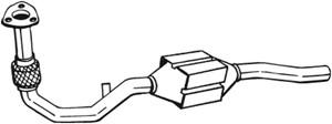 Katalysaattori, Edessä, AUDI A4, A4 Avant, A6, A6 Avant, VW PASSAT, PASSAT Variant, 3B0254500AX, 4B0253058EX, 4B0253058FX