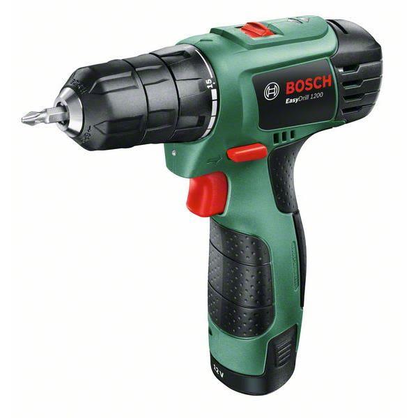 Bosch DIY Easy Drill 1200 Borskrutrekker med 1,5Ah batteri og lader