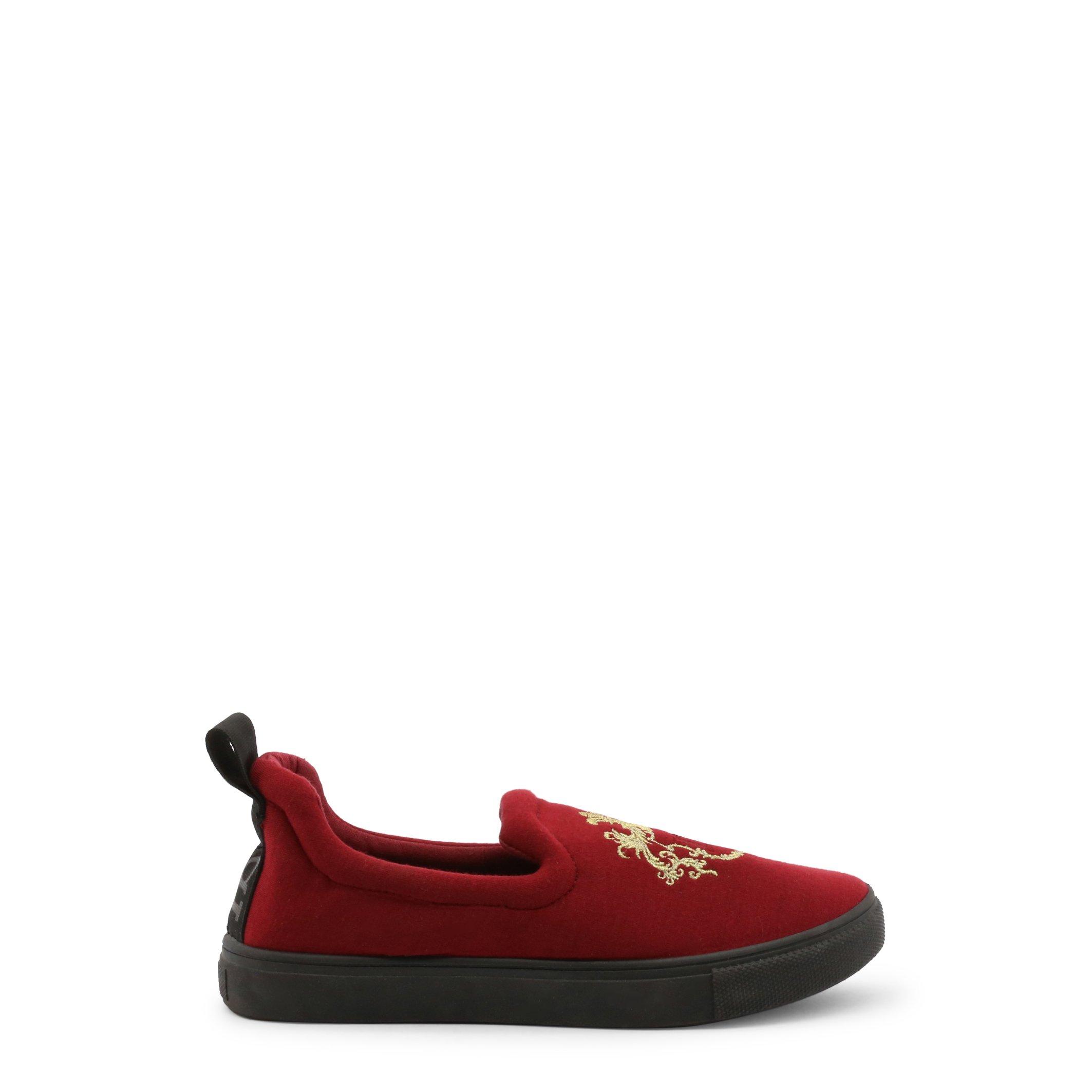 Roccobarocco Women's Slip On Shoes Black 336976 - red EU 37