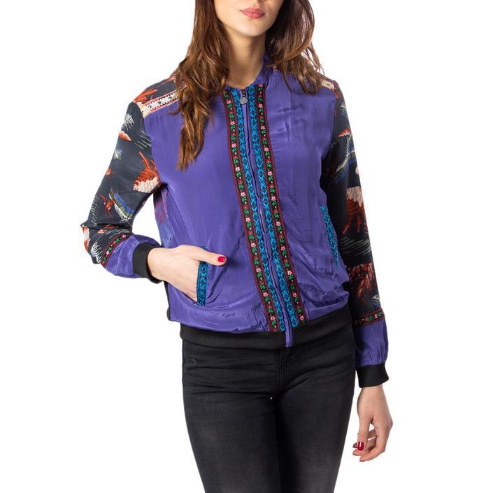 Desigual Women's Blazer Purple 172229 - purple 38