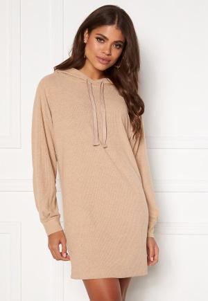 ONLY Zoe L/S Sweat Dress Beige XL