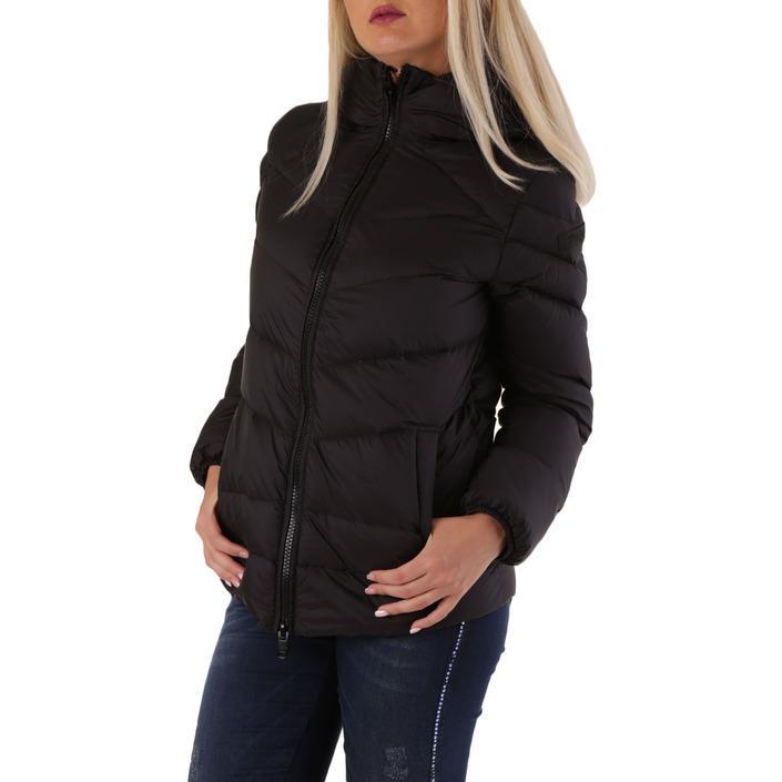 Diesel Women's Jacket Black 320128 - black 2XS