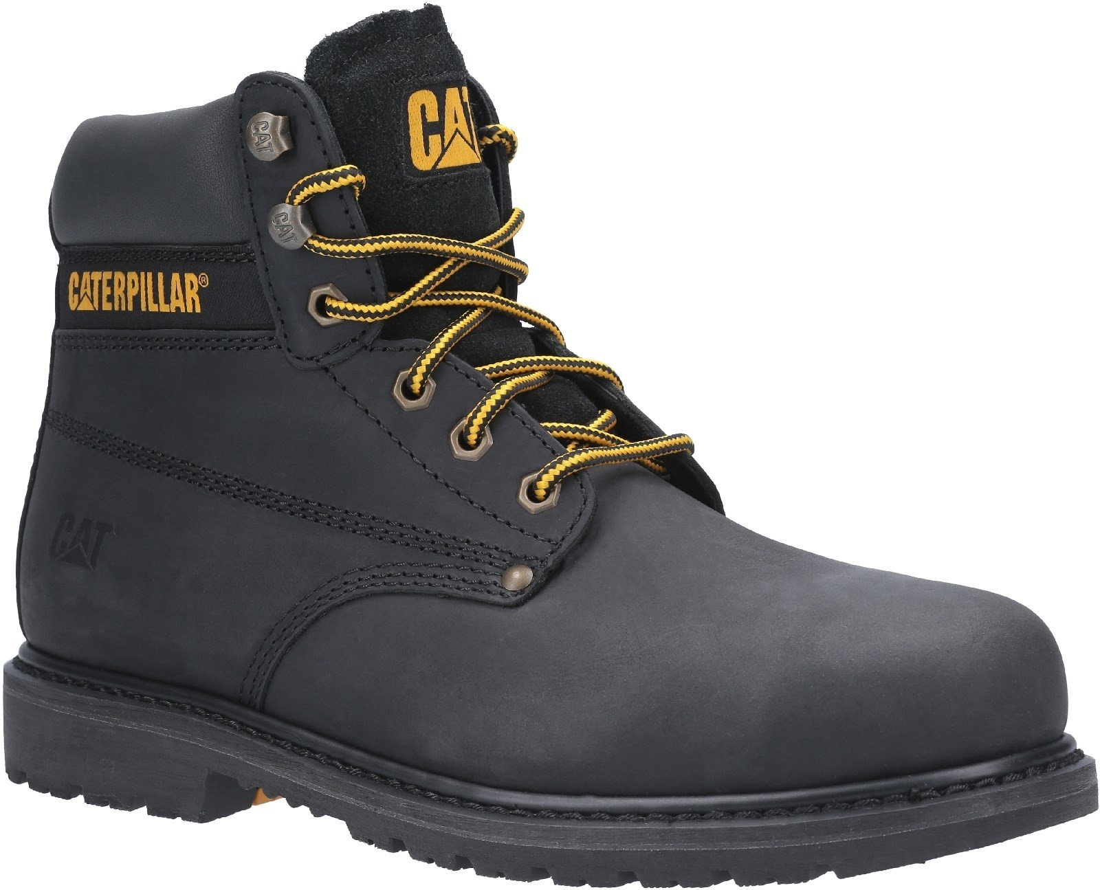 Caterpillar Men's Powerplant GYW Safety Boot Various Colours 30178 - Black 6