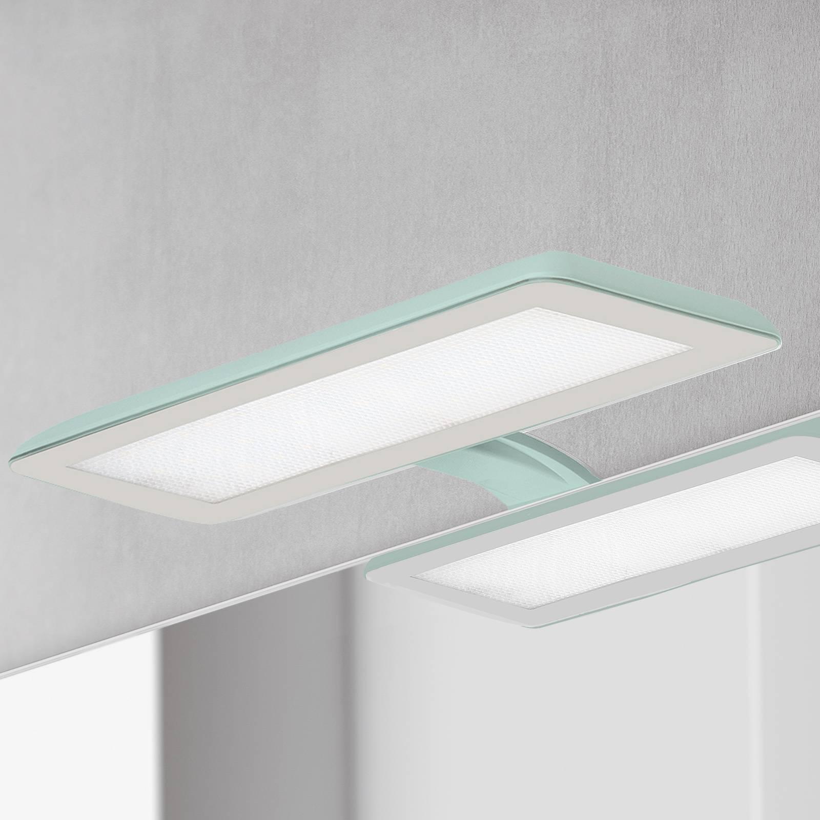 Nikita-LED-peilivalaisin, akvamariini/harmaa