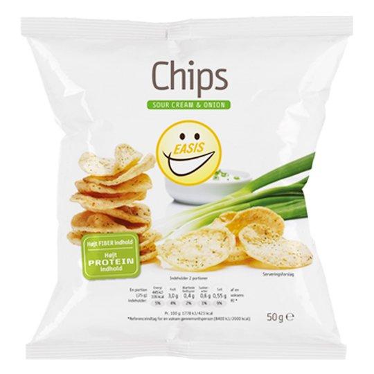 "Chips ""Sour Cream & Onion"" 50g - 47% rabatt"